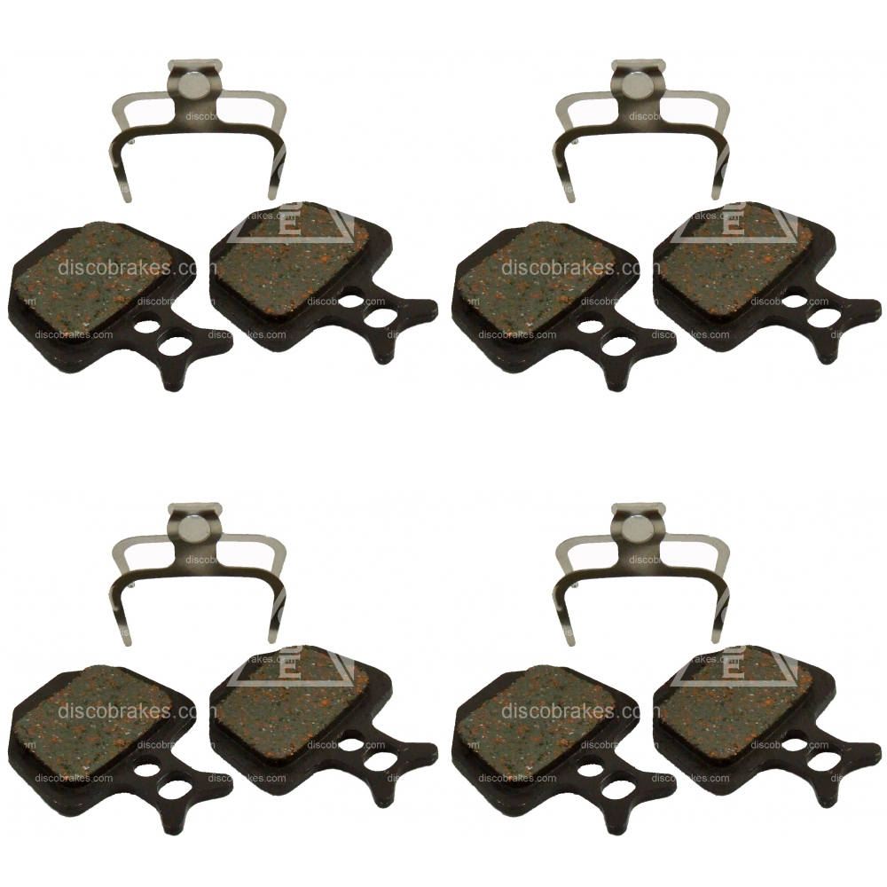 4 Pairs Semi-Metal Disc Brake Pads fit Formula ORO K18 ORO K24 Puro Bianco